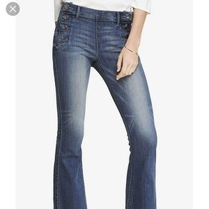 Express jeans never wore